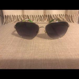 Authentic Kate Spade aviator sunglasses